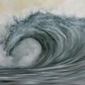 Storming The Beach by Kelly Headrick