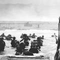 Storming The Beach On D-Day  by War Is Hell Store