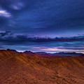 Stormline Above Mountains by David Stevens