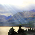 Storms A Coming-lower Two Medicine Lake by Marty Koch