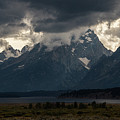 Storms In The Tetons by Jennifer Ancker