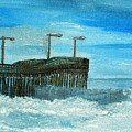 Stormy At Morro Bay by Leslye Miller