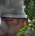 Stormy Barn by David Paul