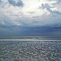 Stormy Beach Beauty by D Hackett