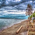 Stormy Beach by Spencer McDonald