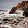 Stormy Beach Waves by Sophie McAulay