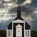 Stormy Day At The Black Church by Jerry Fornarotto