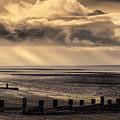 Stormy English Coastal Seascape by Peter Hayward Photographer