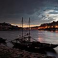 Stormy Evening Sky Above Porto And Gaia by Artur Bogacki