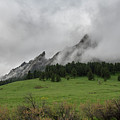 Stormy Flatirons by Philip Rodgers