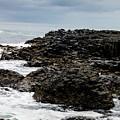 Stormy Giant's Causeway by Elvis Vaughn