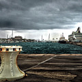 Stormy Harbor Kings Wharf Bermuda by Bill Swartwout Fine Art Photography