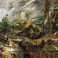 Stormy Landscape -  1625 Peter Paul Rubens by Eloisa Mannion