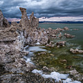 Stormy Mono Lake by Cat Connor
