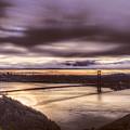 Stormy Morning Sf Bay Bridge by Bruce Bottomley