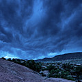 Stormy Night Sky Arches National Park - Utah by Gary Whitton