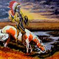 Stormy Prairie by Victor Minca