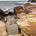 Stormy Rock Beach by Sophie McAulay
