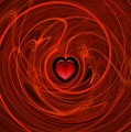 Stormy Romance by Sandra Bauser Digital Art