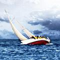 Stormy Sea by Alan Hausenflock