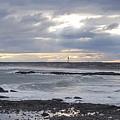 Stormy Seas And Sky by Julie Houle