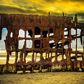Stormy Shipwreck by Garry Gay