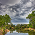 Stormy Shoreline by Aaron Burrows
