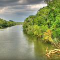 Stormy Skies Over The Coosa River by Patricia Montgomery