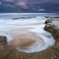 Stormy Sunrise by Mike  Dawson