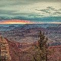 Stormy Sunset At The Canyon by John M Bailey