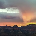 Stormy Sunset From Marion Point Campsite by NaturesPix