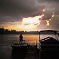 Stormy Sunset by Graesen Arnoff
