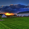 Stormy Sunset In The Country by Dale Kauzlaric