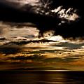 Stormy Sunset by Venetta Archer