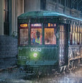 Stormy Trolly Ride by James Woody