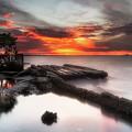 Stormy Twilight Afterglow by Ronald Kotinsky