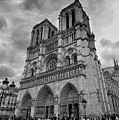 Stormy Views Of Notre-dame by Scott Hippensteel