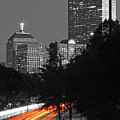 Storrow Drive Headlights by Juergen Roth