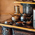Stove - Breakfast At My Great Grandmothers by Mike Savad
