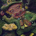 St.patricks Day Pig by Nadine Rippelmeyer