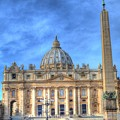 St. Peter's Basilica  by Bill Hamilton