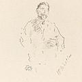 St?phane Mallarm? by James Mcneill Whistler