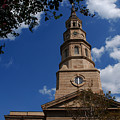 St.philips Church Charleston Sc by Susanne Van Hulst