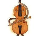 Stradivarius Violin by Kestutis Kasparavicius