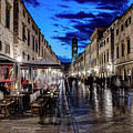 Stradun By Light by Brent Kaire