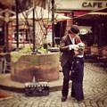 Strasbourg Street Performer by Heng Hua Wang