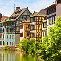 Strasbourg, Half-tmbered Houses, Petite France, Alsace, France  by Marco Arduino