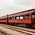 Strasburg Passenger Cars by Jennifer Wick