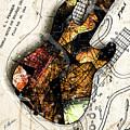 Strat Abstracta No. 4 Sunrise by Gary Bodnar