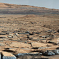 Stratified Rock On Mars by Science Source